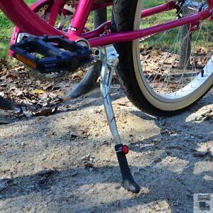 M-Wave doble de acero pata lateral de la bicicleta bici ciclo pata de cabra S...
