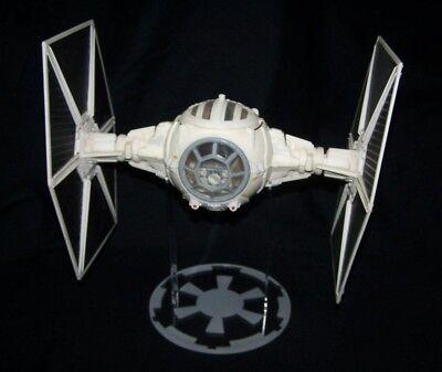 Vader Tie Fighter 1 x Acrylic Display STAND Vintage Star Wars Interceptor