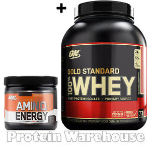 Image is loading Optimum-Nutrition-Gold-Standard-100-Whey-Protein-5lb-