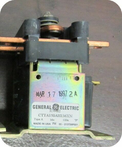 GE EV-100 300 AMP 36VDC SPNO IC4482CTTA300AH136X
