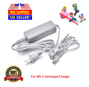 New-Power-AC-Wall-Charger-Adapter-Cable-Cord-For-Nintendo-Wii-U-GamePad