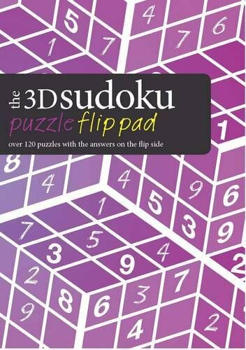 The 3D Sudoku Puzzle Flip Pad: Over 120 Puzzles with the Answers on the Flip Sid
