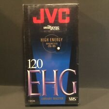 SEALED JVE EHG 120 VHS tape