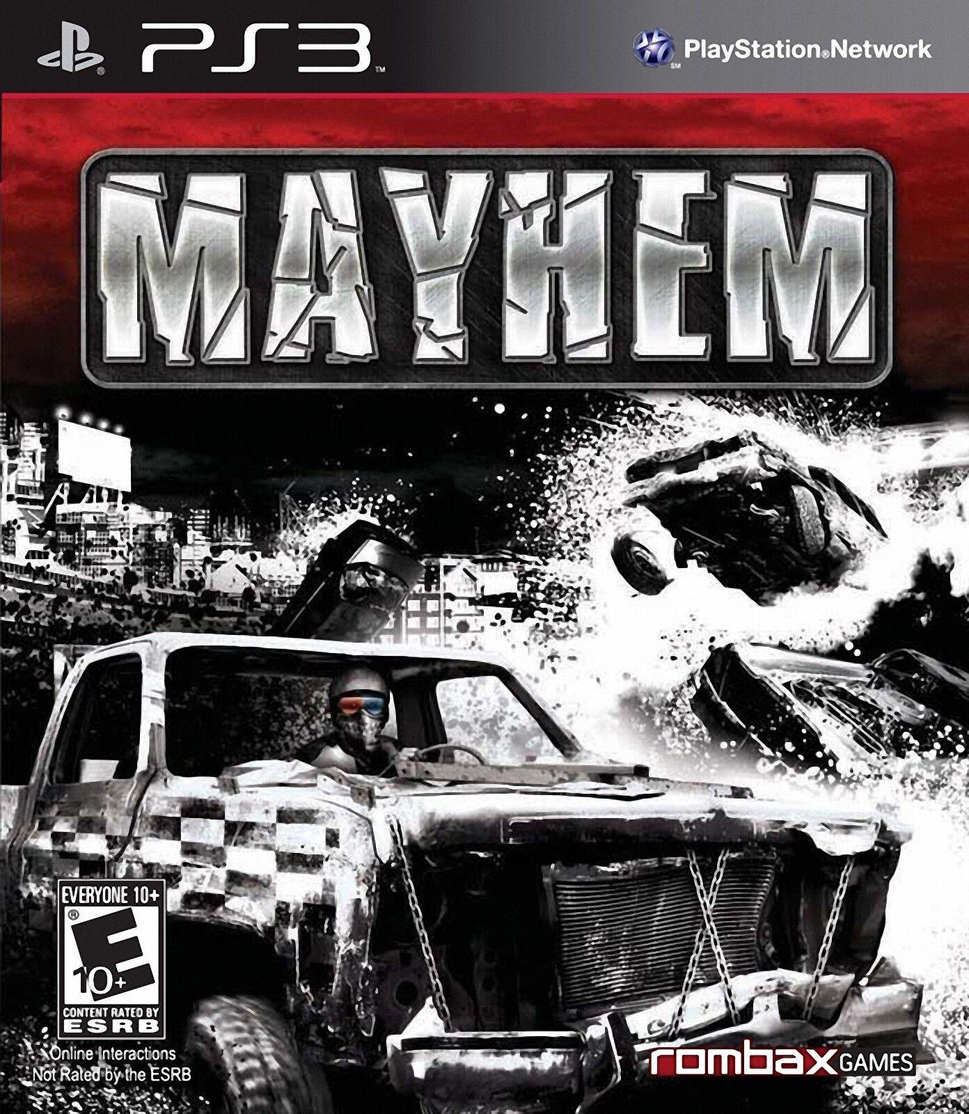 Mayhem 3d PS3