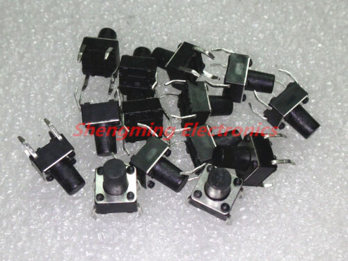 1000PCS Momentary Tactile Push Button Switch Tact Switch 6X6X8.5mm 4-pin DIP-4