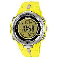Casio Protrek Prw-3000-9b Prw-3000 Hourly Time Signal Watch Brand