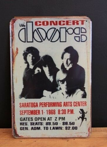 20x30cm The Doors Concert Vintage Style Tin Sign