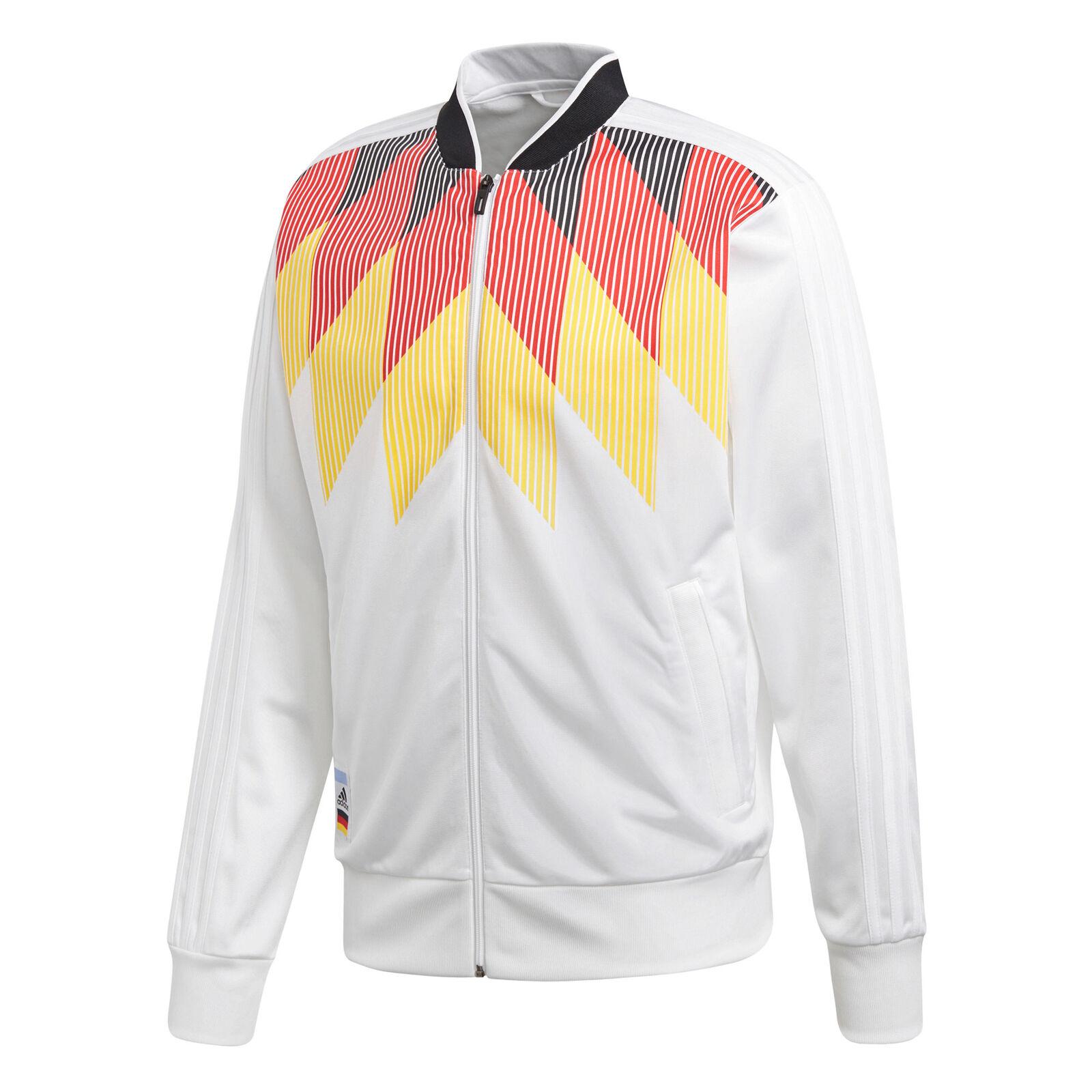 Adidas Deutschland Ci Track Jacke Sportjacke Fußballjacke Fußballjacke Fußballjacke Fußball Herren 13a4d7