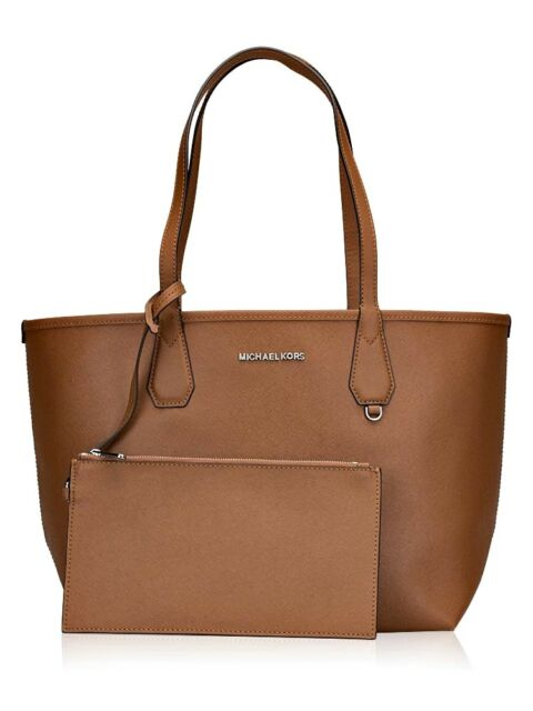4c461a8548085f Michael Kors Bag Handbag Candy LG Reversible Bag Clutch Luggage Cherry New