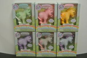 My Little Pony 35th Anniversary Complete Set of 6 New in Box - Snuzzle, Minty, +