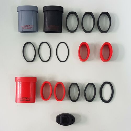 Inner /& Outer Spacers for E-Post LOOK Replacement Elastomer /& Spacer Kit
