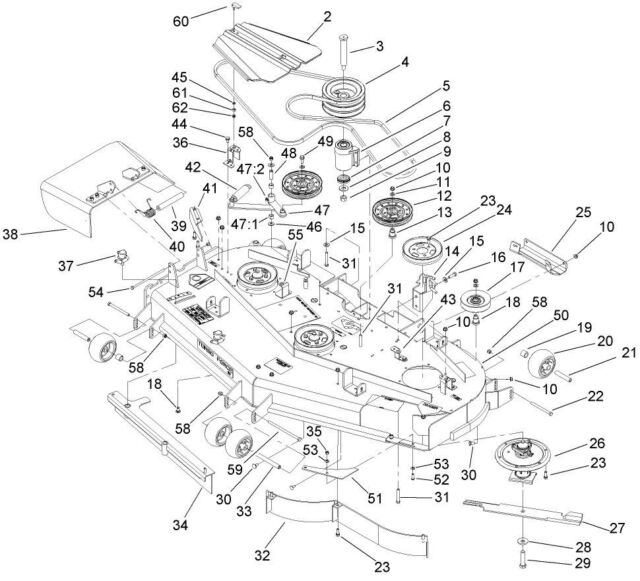 Toro 8 25 Part Diagram