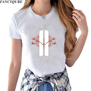 BTS-Women-Bangtan-Boys-T-shirt-Love-Yourself-Tear-Tee-Short-Sleeve-Tops-KPOP