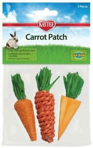 Kaytee-Carrot-Patch-Small-Pet-Chew-Toys-3-Per-Pack