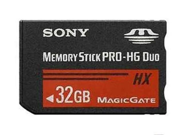 32GB 32Go Memory Stick Mémoire MS PRO-HG Duo HX MagicGate Card SONY PSP CAMERA