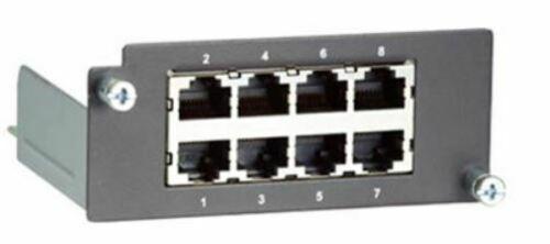 MOXA 8 Port Fast Ethernet Module PM-7200-8TX for MOXA Switches RJ45