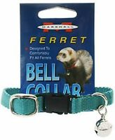 Marshall Pet Ferret Collar With Bell Teal Jingle Free Shipping To Usa Only
