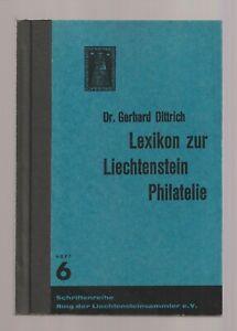 LIECHTENSTEIN-LEXICON-zur-LIECHTENSTEIN-PHILATELIE-1967-useful-handbook