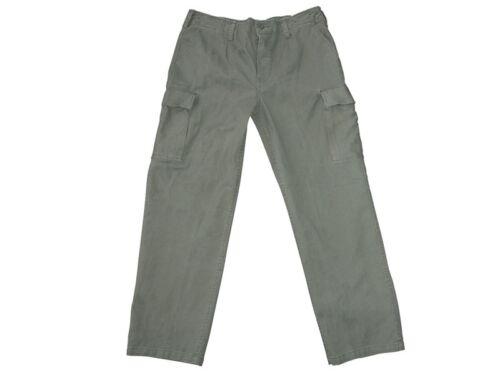 6 7 8 9 10 11 VINTAGE BW milit pant BW Esercito Tedesco Verde Oliva Nero Pantaloni Tg