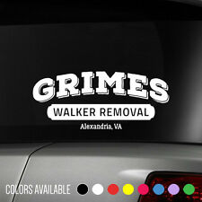 The Walking Dead Rick Grimes Walker Removal Vinyl Decal Sticker