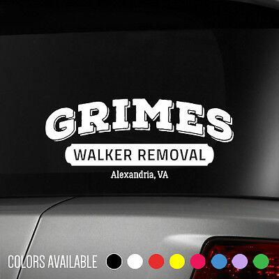 The Walking Dead Rick Grimes Walker Removal Vinyl Decal Sticker