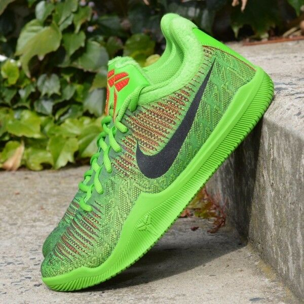 Nike Mamba Rage Grinch Electric Vert 908974-2018 Homme Basketball Chaussures NIB