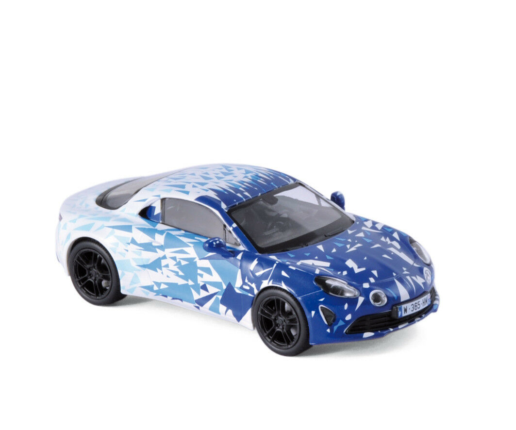 NOREV 517863 - Alpine A110 2017 blanc & bleu Test version  1 43