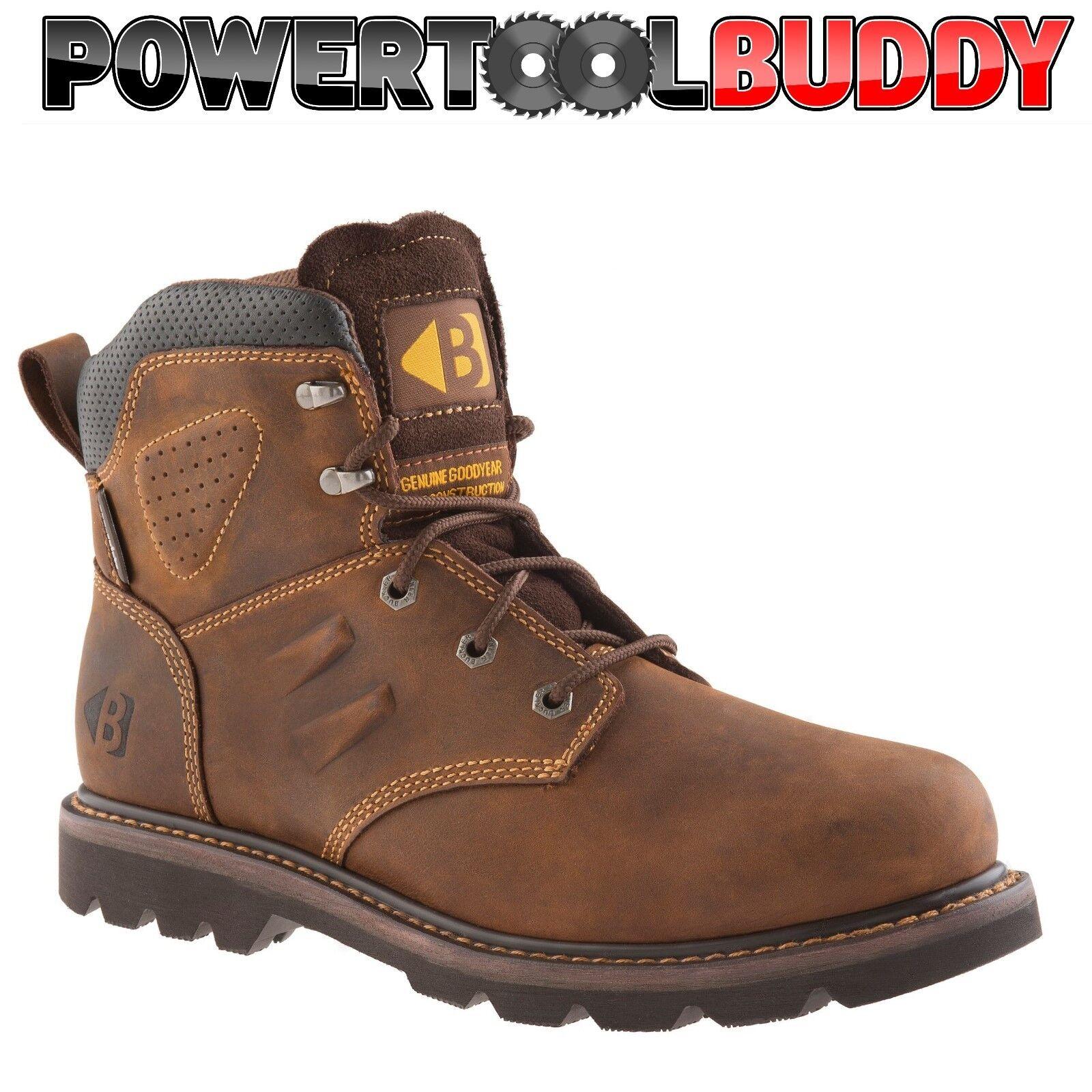 Buckler B1800 non-safety Buckflex Crazy Horse Leather non-safety B1800 ankle botas sz 6/40--13/47 e4b586
