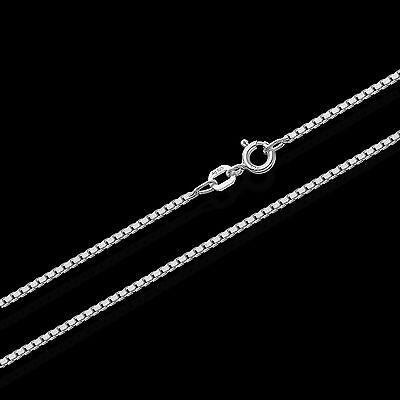 0,90mm Echte 925er Sterlingsilber Venezianerkette Silberkette Halskette Colier Einfach Und Leicht Zu Handhaben