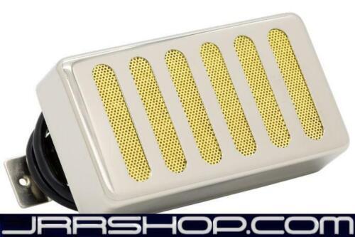 Seymour Duncan JB Model Raw Nickel Radiator Cover over Gold Foil New JRR Shop