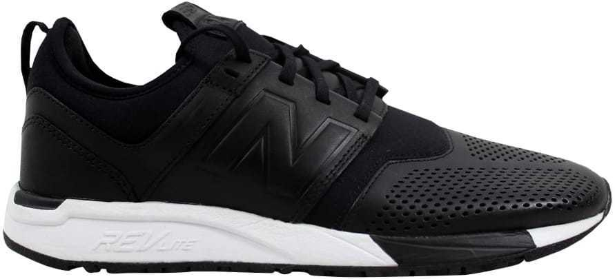 New Balance 247 Leather noir MRL247VE hommes SZ 8