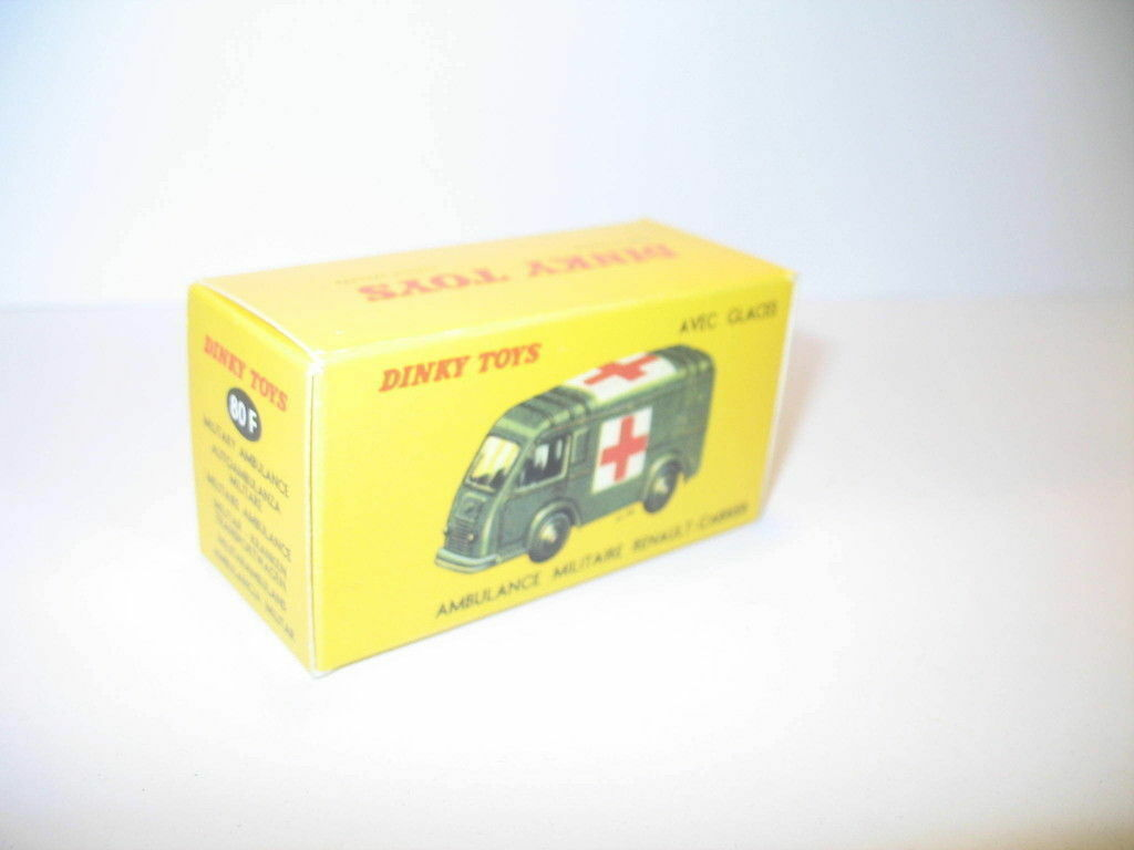 N24, boite ambulance renault militaire repro DINKY TOYS 80F