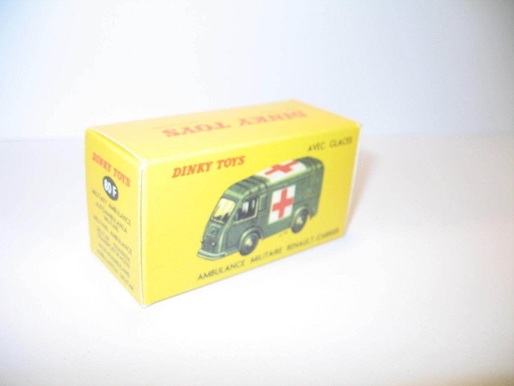 N24, caja ambulancia renault militar repro DINKY TOYS 80F
