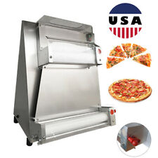 Automatic Electric Pizza Dough Roller Sheeter Pastry Press Making Sheet Machine