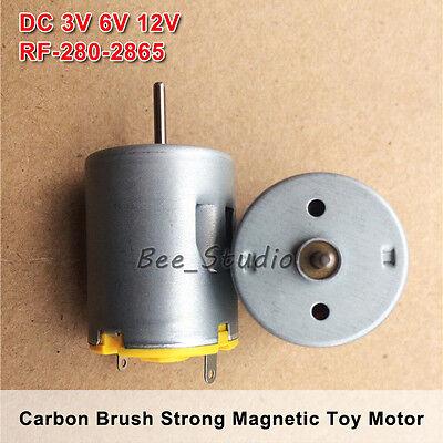 DC 3V~6V 11200RPM High Speed Carbon Brush Micro 260 Motor DIY RC Car Hobby Toy