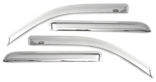 AVS 684550 Chrome Ventvisor Window Delfector 2006-2012 Ford Fusion Lincoln MKZ