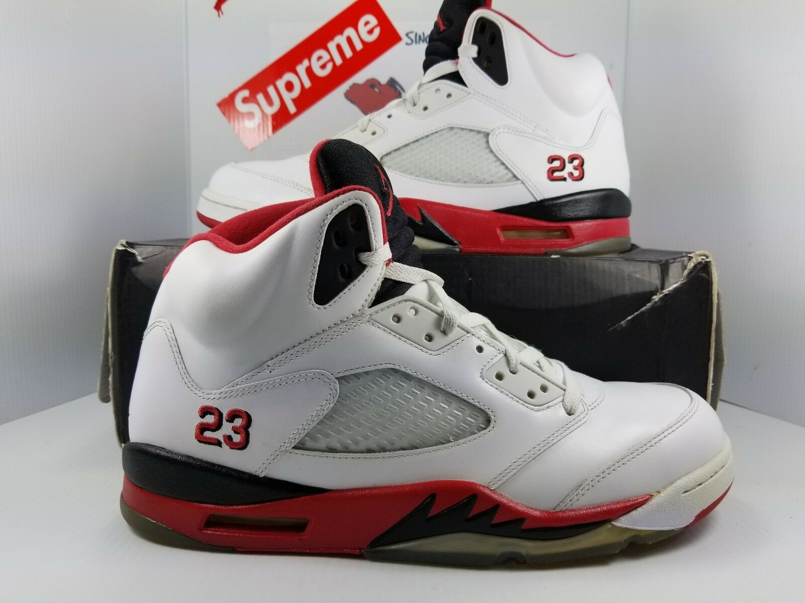 on sale 94343 1116c Jordan 5 Fire (136027 120) Size 11.5 Red noctsg4790-Athletic Shoes