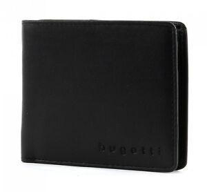 Herren-accessoires Kleidung & Accessoires Bugatti Primo Coin Wallet 4cc Geldbörse Portemonnaie Neu Herren Schwarz Black