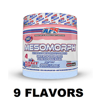 APS Nutrition MESOMORPH Original PRE-WORKOUT - ANY FLAVOR - **TRUSTED SELLER**