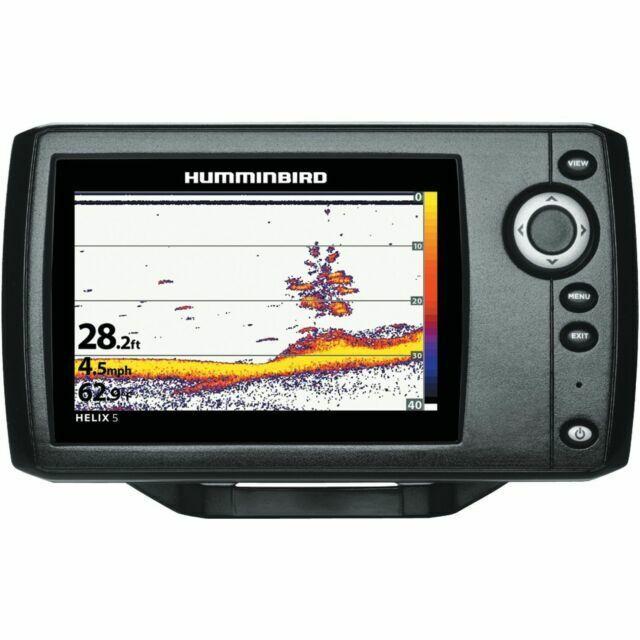 "Hummibird Helix 5 Series Sonar G2 5"" Fishfinder - Black"