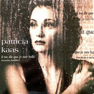 Patricia-Kaas-CD-Single-Il-Me-Dit-Que-Je-Suis-Belle-France-VG-VG
