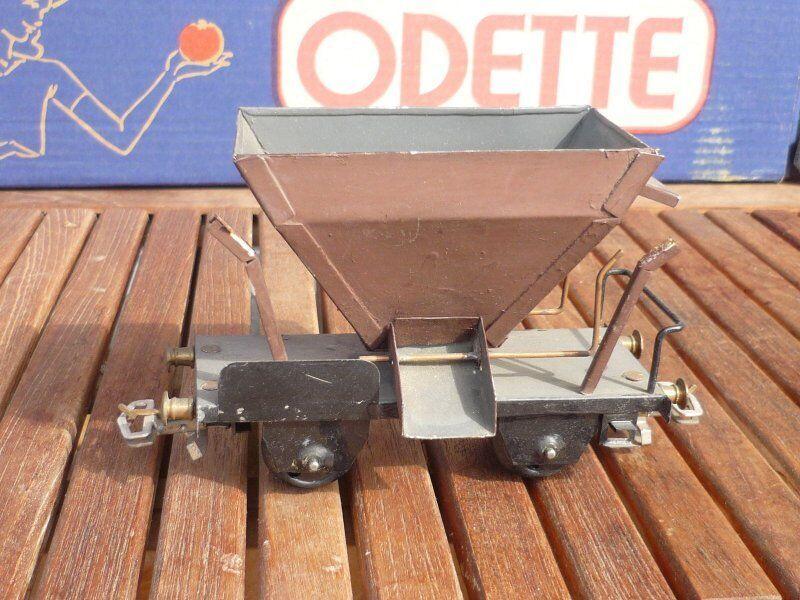 o autoconstruction selbstentladewagen brun von talbot wagen