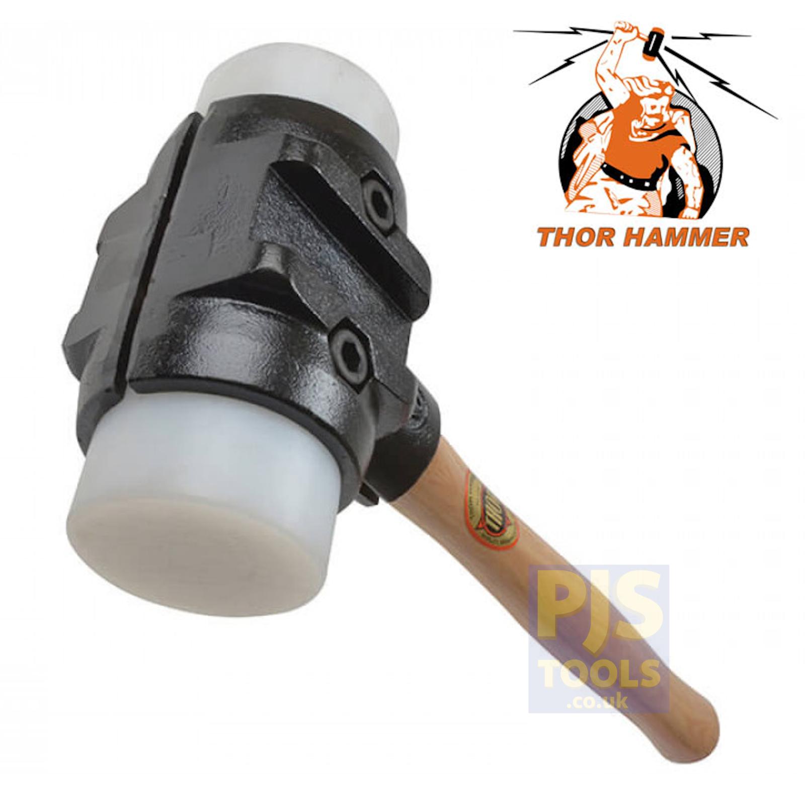 Thor 35-SPH275 70mm Größe 5 super plastic split head mallet hammer kerblaying
