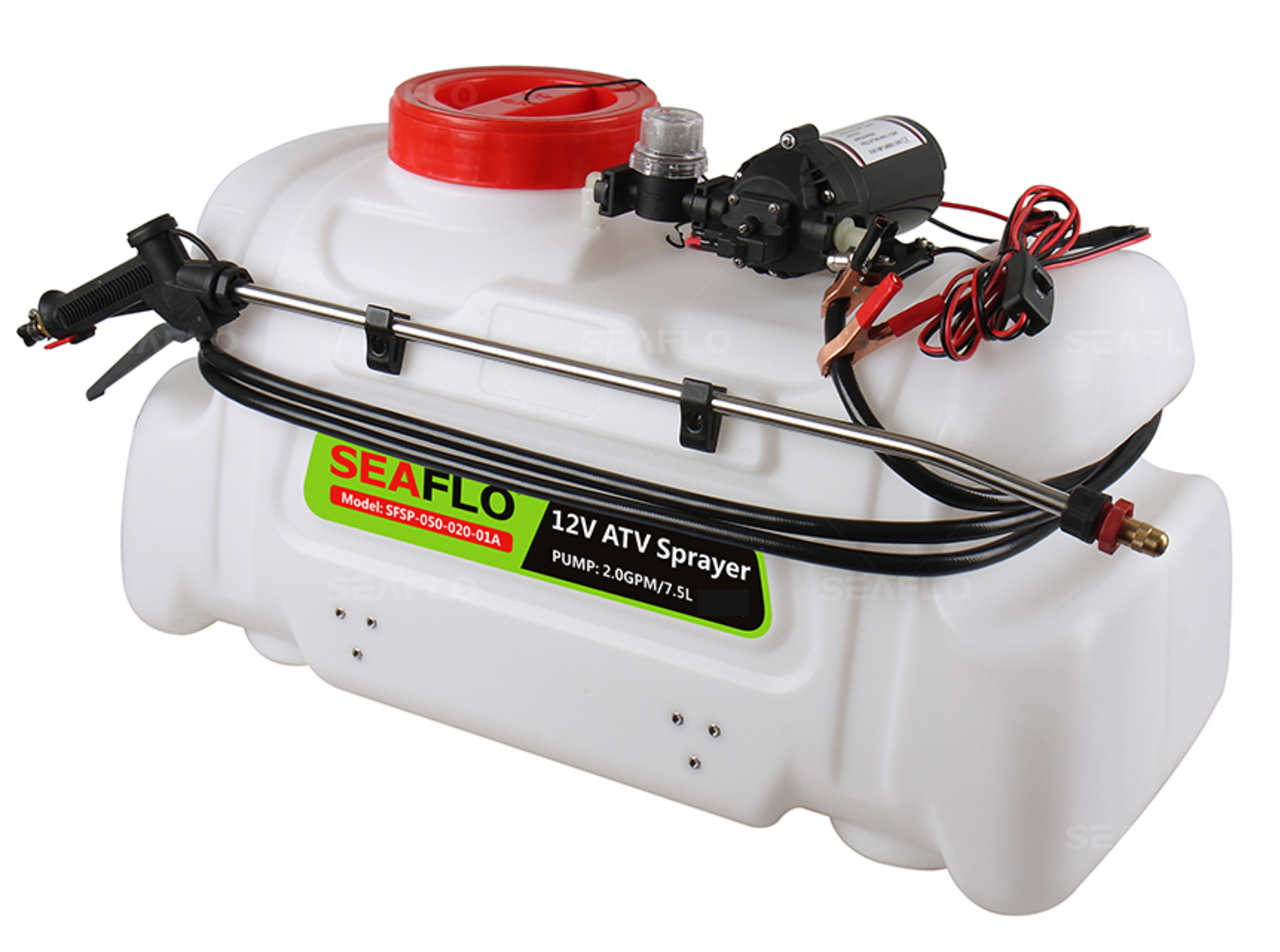 Seaflo Atv Agricultural Electric Spot Sprayer 13 Gallon 80 Psi 1 Gpm Wiring Harness For Norton Secured Powered By Verisign