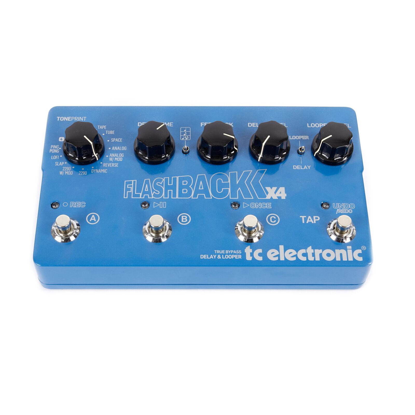 Utilisé TC Electronic Flashback X4 Delay & Boucleur Effets Pédale