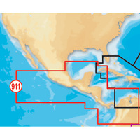 Navionics Platinum Plus Mexico Central America Sd/microsd