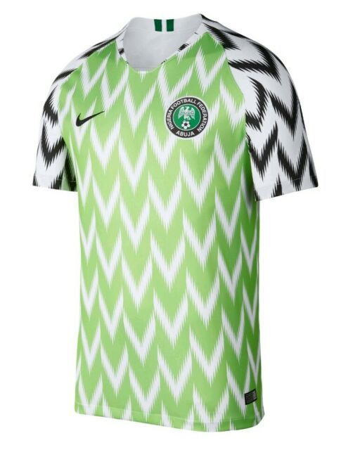NEW WTAGS NIGERIA Nike Jersey World Cup Authentic Home