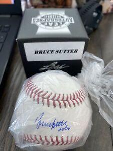 Bruce Sutter Autographed Signed Baseball Inscribed HOF 06 JSA COA Auto Leaf 2020