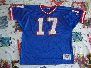 Details about Vintage Team NFL New York Giants DAVE BROWN Wilson brand Jersey Men's XL
