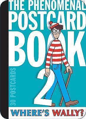 Where's Wally? The Phenomenal Postcard Book Two, Hardcover By Handford, Marti Exquisito Arte Tradicional Del Bordado